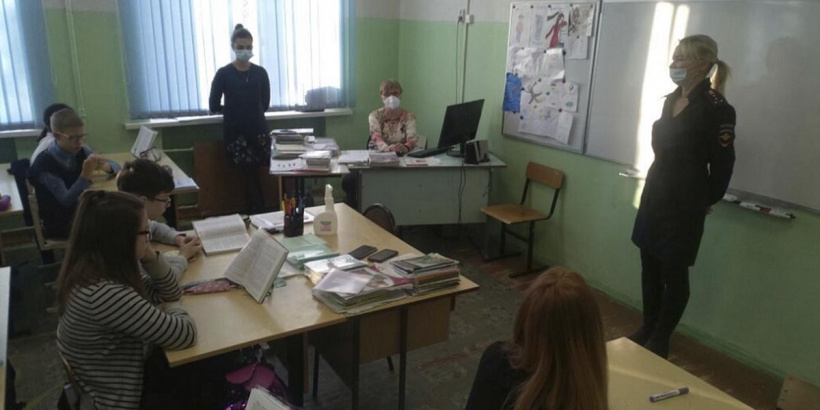 Сотрудники УМВД России по г.о. Электросталь провели профилактические беседы с школьниками