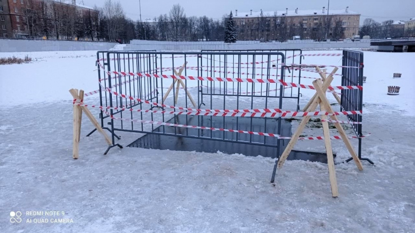На пруду около ЛДС «Кристалл» начались подготовительные работы для благоустройства территории