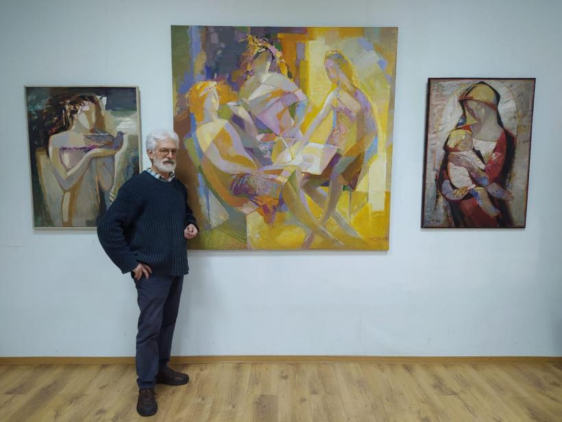 В Электростали открывается выставка работ известного художника Михаила Сотникова