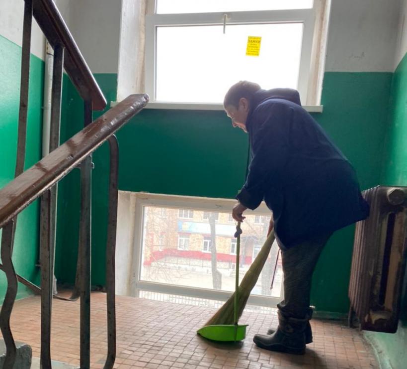 Более 6 тысяч жителей Электростали довольны качеством уборки подъездов