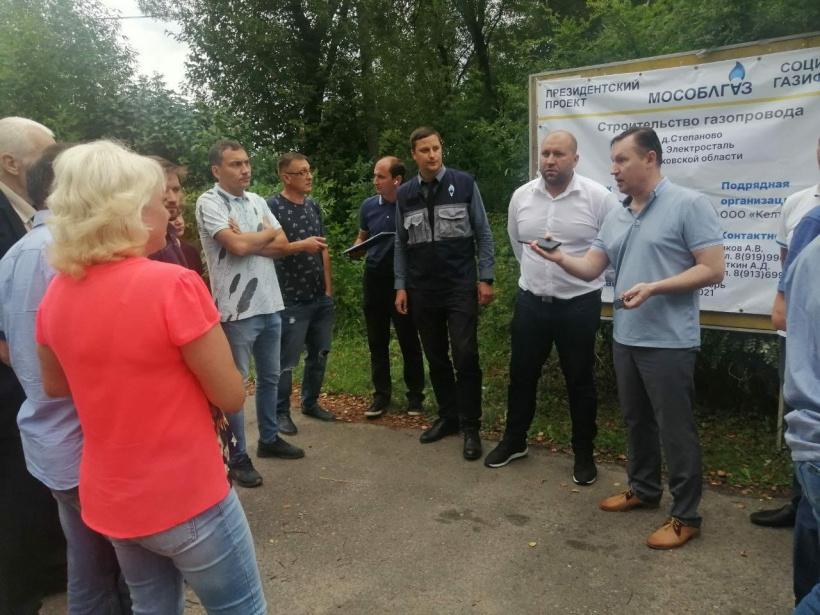 Встреча с жителями д. Степаново по вопросу социальной газификации